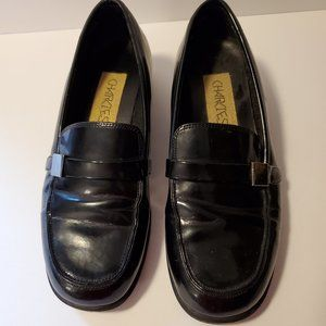 Charlies Women's Black Loafer Shoes Size 7M